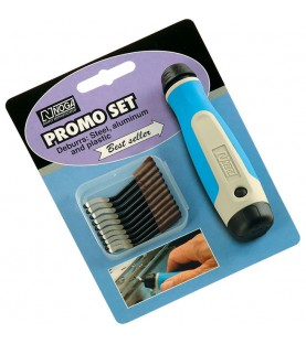 NG8150 NogaGrip set 1handle with 10 S10 blades.