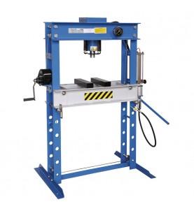 Hydraulic shop press 45t FERVI P001/45