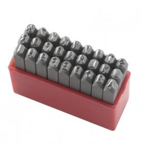 HRC 58-60 Letters 27pcs. L=8mm FERVI P012/L08