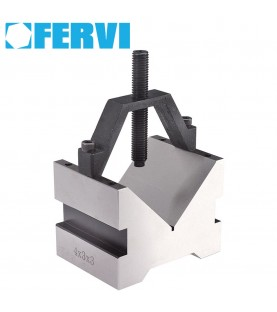 150x125x100mm 90° Block and clamp for 110mm max clamp FERVI P303/2C