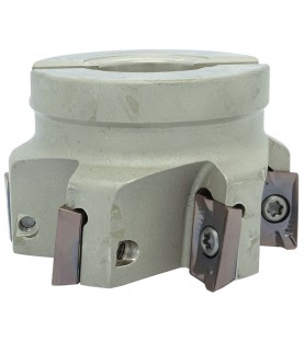 100mm 90° Shoulder milling head with 32mm hole for AP..1604.. inserts
