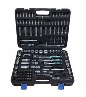 1/4, 3/8 & 1/2 Dr. Socket set 179pcs FERVI S179