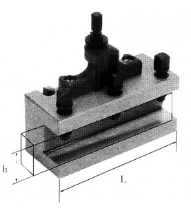 80mm Flat type tool holder FERVI T00A/D