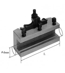 100mm Prismatic type tool holder FERVI T00Ε/B