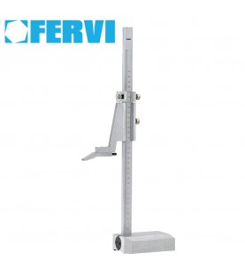 300mm Vernier heightgauge chrome plated FERVI T100/300
