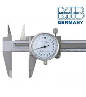 100mm Dial caliper with drive roller ΙΝΟΧ MIB 01004007
