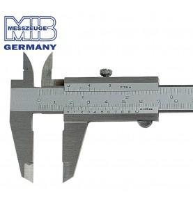 100mm Vernier caliper with set screw ΙΝΟΧ MIB 01004008