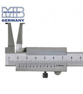 30-250mm (0,05mm) Inside groove vernier caliper ΙΝΟΧ MIB 01006015