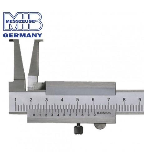 35-300mm (0,05mm) Inside groove vernier caliper ΙΝΟΧ MIB 01006016