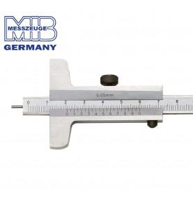 80mm Depth vernier caliper with needle point MIB 01015008