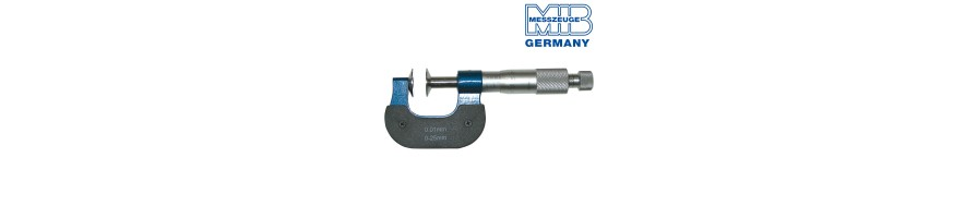 Micrometers with discs
