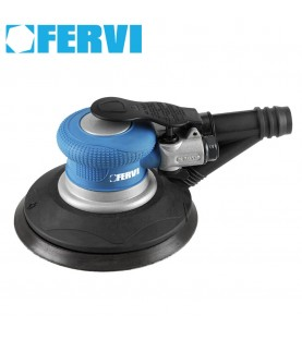 150mm Air orbit sander with self-integrated suction FERVI 0421