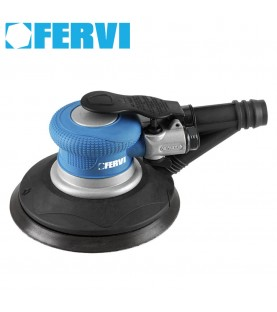150mm Air orbit sander with self-integrated suction FERVI 0460