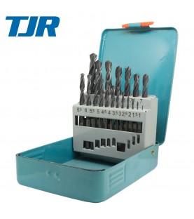 1-10mm (x0,5) Drill set HSS DIN 338 19pcs