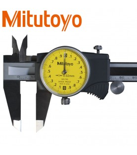 150mm Dial calliper gauge (0,02mm) with thumb roller