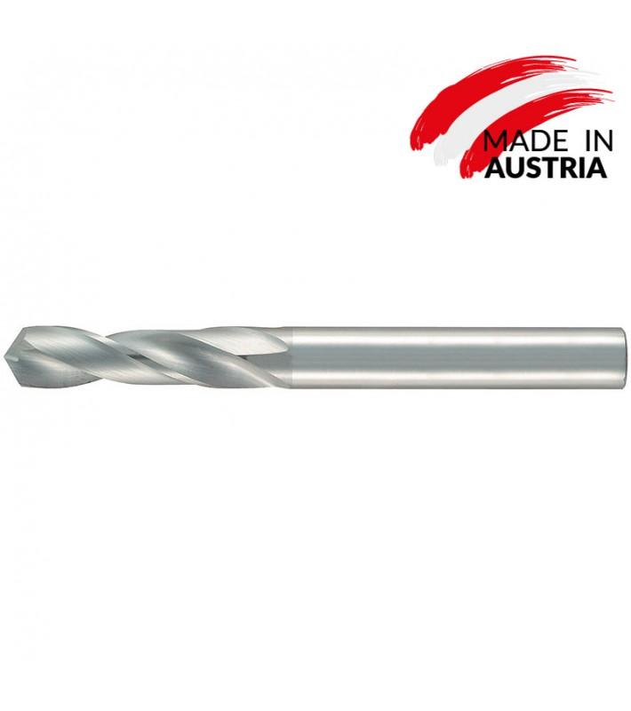 0,5mm Carbide drill short version DIN 6539 - 3XD bright