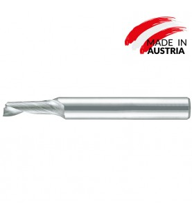 1,5mm Solid carbide 1-flute mini end mills for aluminium