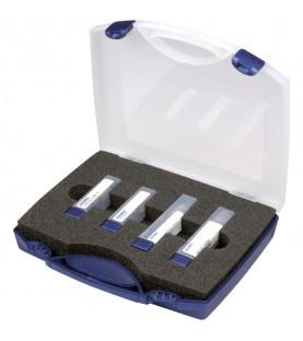 Solid carbide end milling cutter set 40° 6/8/10/12mm RockTec65