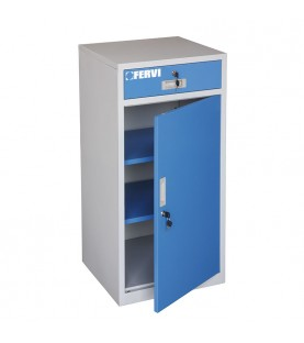 500x460xh1000mm Cabinet with 1 drawer FERVI A100