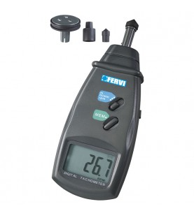 Contact type digital tachometer FERVI C069