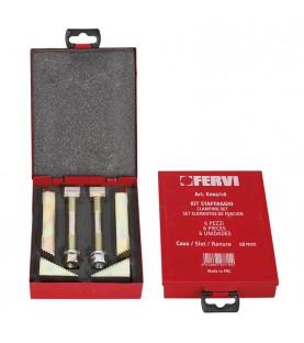 Clamping set 6pcs. FERVI K002/08