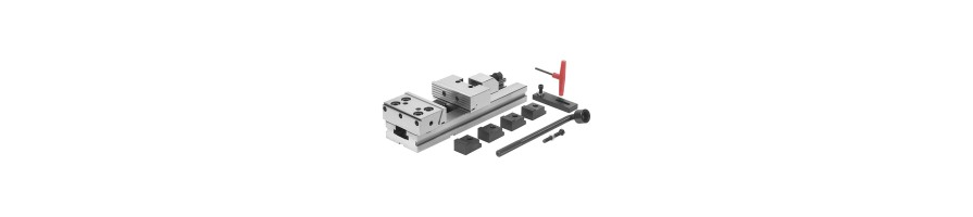 High precision steel modular vices