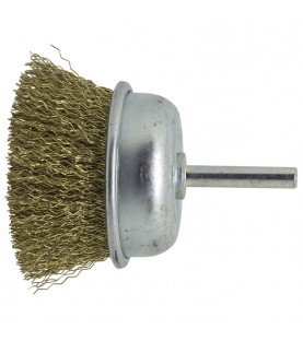 65mm Cup Brush with 6mm shank