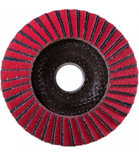 125mm Flap Disc Kombi-Ceramic Korn 40 with plastic backing