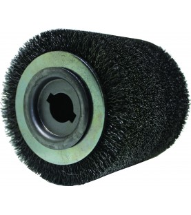 100x100x19mm Wire brush from steel