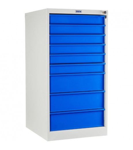 1010x520x580mm 9 Drawers Roller Cabinet WDS-9